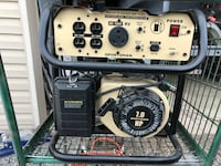 Sportsman generator 4000 watts 3500 running watts used roughly 3 hours Farr West, 84404