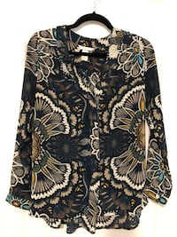 Forest green tribal shirt Pickering