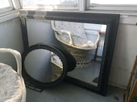 large and small size mirrors