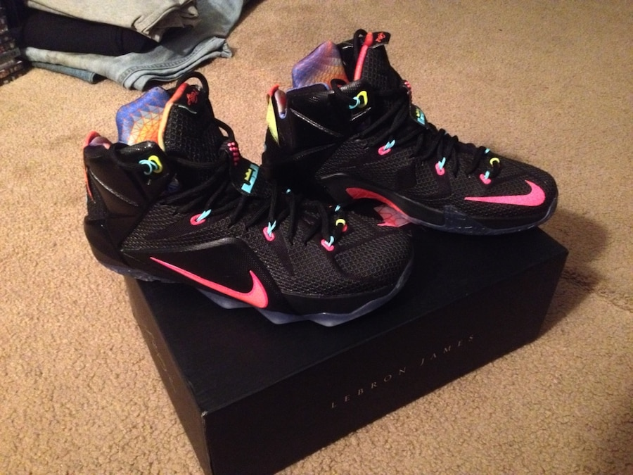 lebron 12 data size 8.5 shoesdiscount