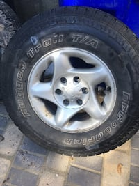2 new tires from Toyota Tundra never use.
