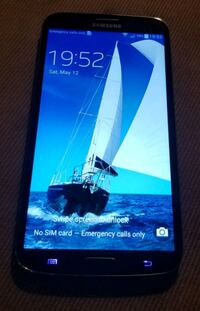 black Samsung Galaxy android smartphone Oceanside