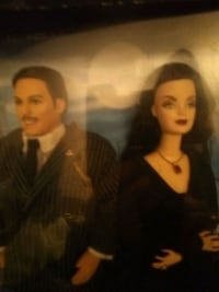 Adams family Barbie and Ken Lincoln, 68510