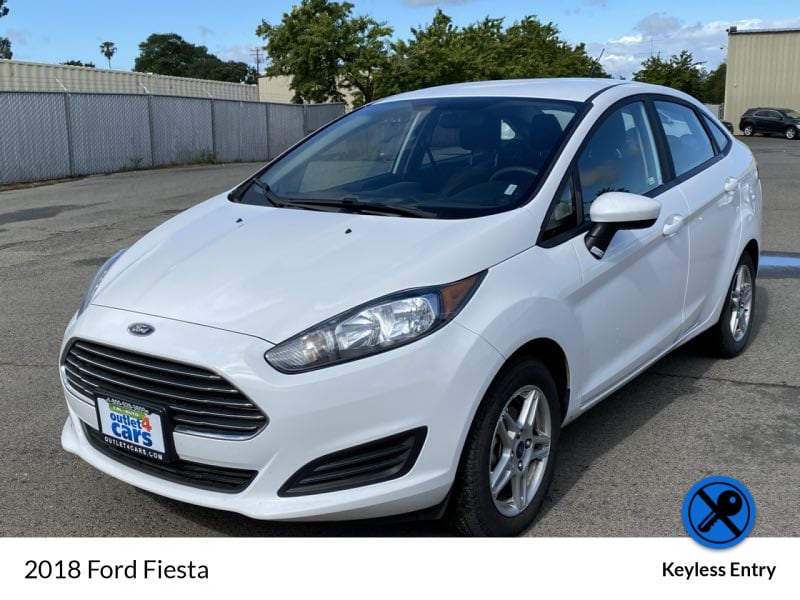2018 Ford Fiesta SE sedan Oxford White !!! d12286cd-6b2c-4afa-b53f-a05cae677442