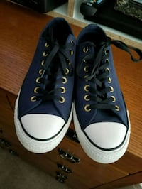 8.5 mens blue converse Chantilly, 20152