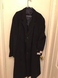 Women's Navy Blue Trench Coat size 12L
