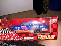 blue and red die-cast car McDonald, 37353