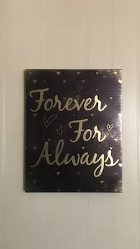 Forever For Always wall art Johnson City, 37604
