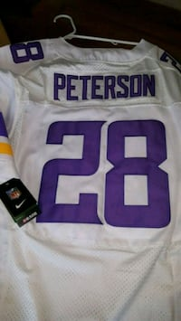 Brand NEW Adrian Peterson Jersey Authentic PD $249 Portland, 97220