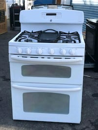 gas stove  doble oven