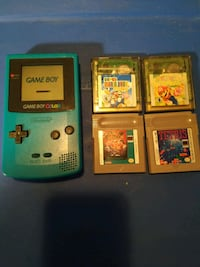 Nintendo Game Boy Color Launch Edition Midnight Blue Handheld System