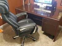 Executive Desk and Chair Reston, 20191