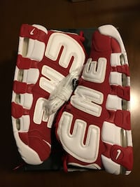 Supreme nike air more - size 9 Mississauga, L5M 0Y2