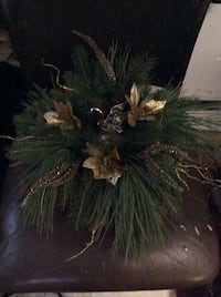 Real Pine Holiday Arrangement