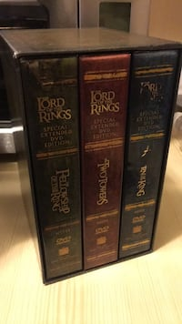 LOTR Extended Edition DVD Calgary, T3C 0Y2