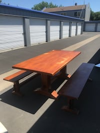 Picnic table / dinning table solid wood