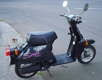black and purple motor scooter Des Moines, 50317