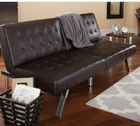 Futon bed Dark Brown