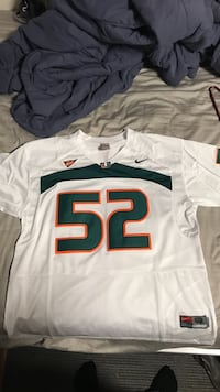Ray Lewis Miami Hurricanes Jersey Knoxville, 37996