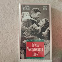 Its a wonderful life movie -VHS Vaughan, L4J 7W6