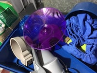 blue and purple desk fan Toronto, M9R 1V5