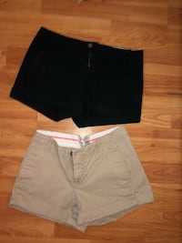 Black and khaki colored shorts  Denver, 17517