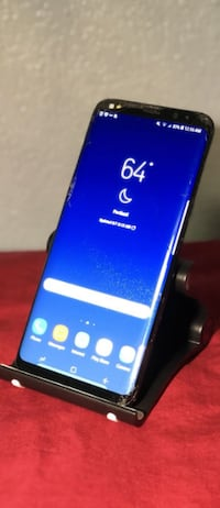 Samsung Galaxy S8 Plus Black Sprint Clean IMEI Cracked Vancouver