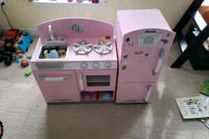 Kids play kitchen with accessories included