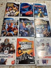 WII games - 5$ each game  Laval, H7W 0A3
