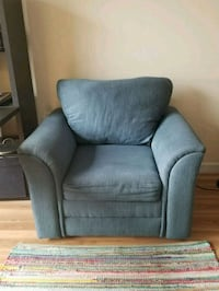 Blue fabric sofa chair Arlington, 22209
