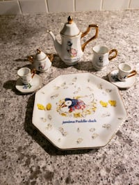 Jemima Puddle-duck tea set White Marsh