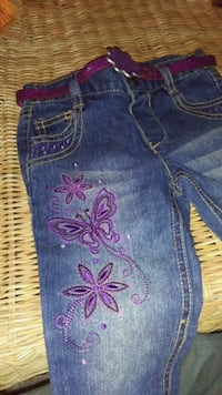 18 month jeans with belt  Woodbridge, 22191