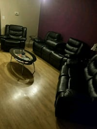 6 piece LEATHER set w/coffee & end tables  Olney, 20832