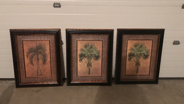 Used Picture Frames With Palm Trees For Sale In Oceanport Letgo