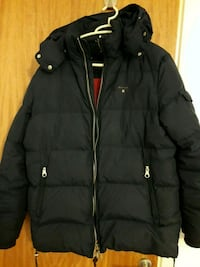 svart zip-up bubblajacka Öster, 213 68