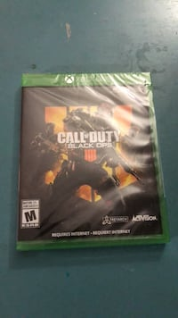 NEW call of duty black ops 4 for Xbox one Toronto, M3M 2E9