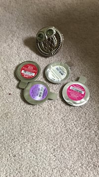 Owl scent port for car and 4 new scent discs Fairport, 14450