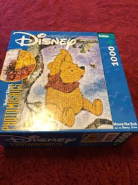 Winnie the Pooh photo puzzle 1000 pieces  Ashburn, 20147