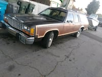 1985 Ford LTD Country Squire family wagon