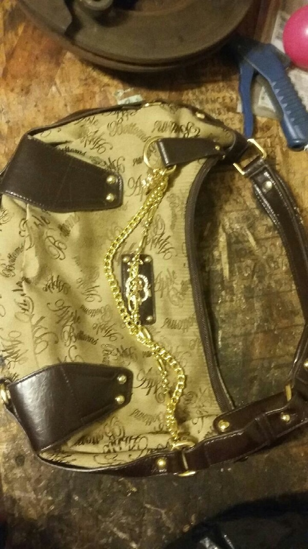 1948aff5e2a2 Used brown and black hobo bag for sale in El Monte - letgo
