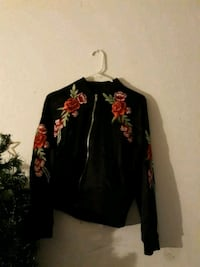 black and red floral zip-up jacket Tucson, 85706