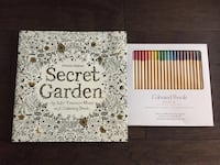 Adult Colouring Book and Pencil Crayons Toronto, M2N 2H7