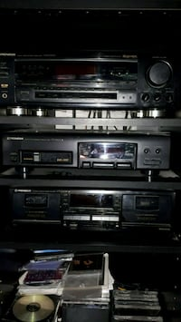 Stereo system. Receiver,  dual cassette, and cd Grimsby