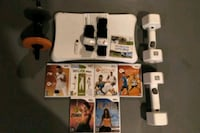 Wii Fitness package board 7 games weights tracker New Tecumseth, L9R 1V4