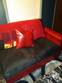 Sectional couch coffee table and area rug