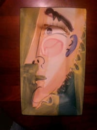 Signed art porcelain  by artist victoria crowell O'Fallon, 63368