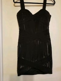 tight shimmery little black dress size 8 Milwaukee, 53202