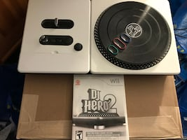 DJ Hero 2 Wii Video Game With Turntable
