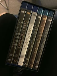 six Game of Thrones Blu-Ray DVD cases Ottawa, K2E 6K6