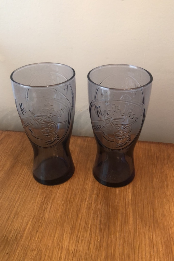 Photo Vintage McDonalds glasses
